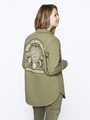 garcia overhemdjack pg000104 groen