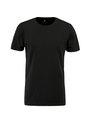 jc basic t-shirt organic cotton jc010003 zwart