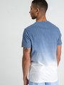 garcia t-shirt E91009 blauw-wit met print