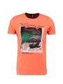 chief t-shirt met opdruk pc010303 roze