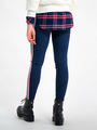 garcia legging met strepen i92529 blauw