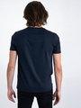 garcia t-shirt met opdruk l91003 blauw