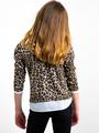 garcia panterprint blouse i92441 beige