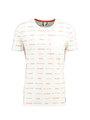 chief t-shirt met tekst pc910711 wit