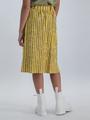 garcia midi rok met strepen o02524 geel