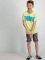 Garcia T-Shirt D93600 Limegroen