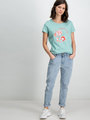 garcia t-shirt tropical e90003 groen