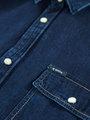 garcia denim overhemd I91022 blauw
