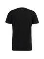chief t-shirt met print pc910705 zwart