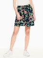garcia rok met allover print donkerblauw q02523