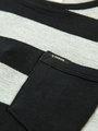 garcia gestreepte long sleeve h93608 zwart-wit