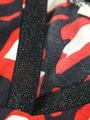 garcia top met allover print g90037 zwart