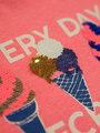 garcia t-shirt met opdruk n04404 roze