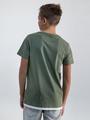 garcia t-shirt met opdruk o03401 groen