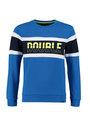 cars sweater met tekstopdruk monay blauw