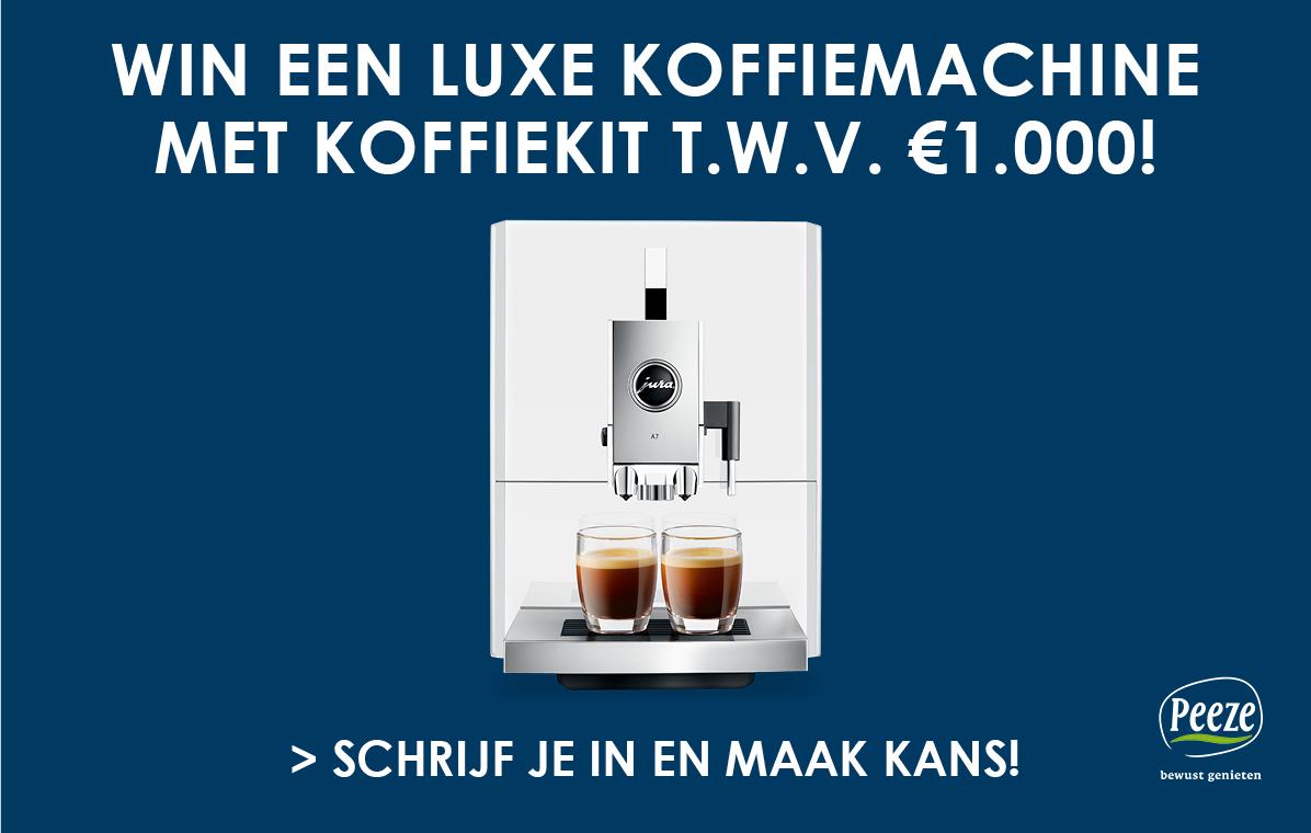 Win een koffiemachine
