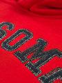 garcia hoodie met tekst j92660 rood