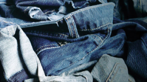 jeans finish