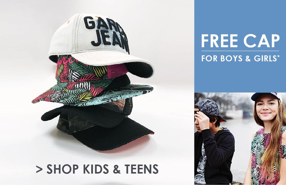 Free kids cap