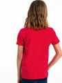 garcia t-shirt met opdruk h93600 rood