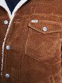 wrangler corduroy jack w423upxma bruin