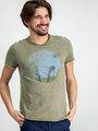 Garcia T-shirt Korte Mouwen D91207 Groen
