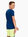 garcia t-shirt met borstprint donkerblauw q03408