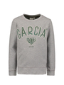 garcia sweater met opdruk gs050101 grijs