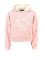 garcia hoodie met tekst h92664 roze