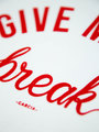 garcia t-shirt met tekstprint n00215 wit