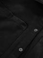 garcia suedine overhemdjurk l90081 zwart