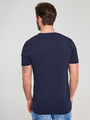 jc basic t-shirt organic cotton jc010005 blauw