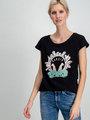 Garcia T-shirt Korte Mouwen D90204 Zwart