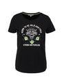 garcia t-shirt met opdruk pg000101 zwart