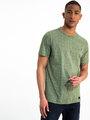 garcia t-shirt met allover print h91204 groen