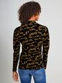 garcia long sleeve met allover print ge900902 zwart