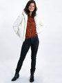 garcia blouse k90030 oranje