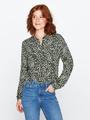 garcia blouse met allover print pg000307 groen