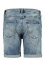 garcia short PG900303 blauw
