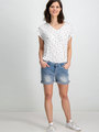 Garcia T-shirt Korte Mouwen D90205 Wit
