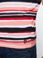 chief t-shirt gestreept pc010309 roze