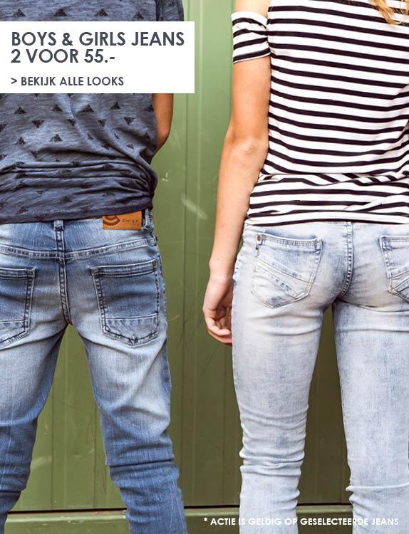 Jeans Centre   kids jeans 2 voor 55 euro