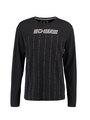 Chief Shirt met Lange Mouwen PC910616 Zwart
