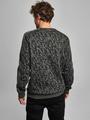 chief sweater met allover print pc910920 groen
