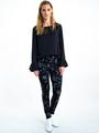 garcia legging met print i90118 zwart