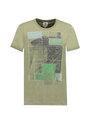 Garcia T-shirt Korte Mouwen D91204 Groen