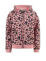 garcia vest met allover print h94651 roze