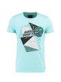 Chief T-shirt Korte Mouwen PC910501 Aqua blauw