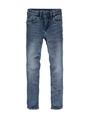 garcia xevi super slim fit vintage used n05517 blauw