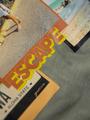 garcia t-shirt met cropped fit o02402 groen